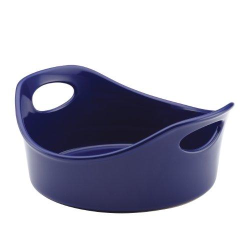 Rachael Ray Stoneware 1.5-quart Round Bakerrachael Ray Stoneware 1-1/2-quart Round Baker, Blue