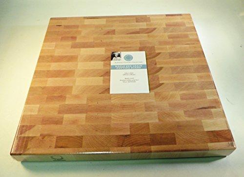 Martha Stewart Maple End Grain Cutting Board - 14 In X 14 In