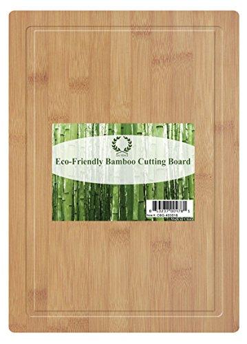 Da Vinci Natural Bamboo Groove Cutting Board, Large 16 X 12 Inch Wood Cutting Board