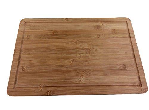 "Kuuk Bamboo Wood Cutting Board - 18"" X 12"" (extra Large)"