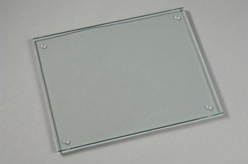 Glass Cutting Board,15 X 11-inch, Tempered Glass