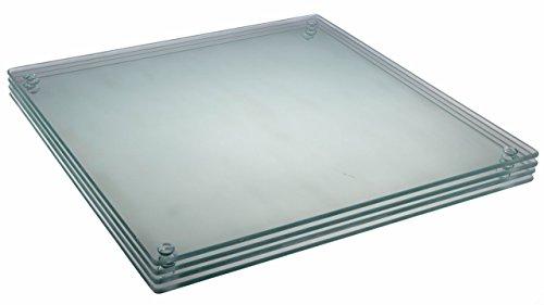 """Premium Tempered Glass Cutting Board Bundle 4 Pack - 11.75"""" X 15.75"""""""