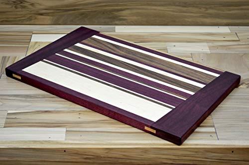 Hardwood Cutting Board by Pith Studios - Earth Core -