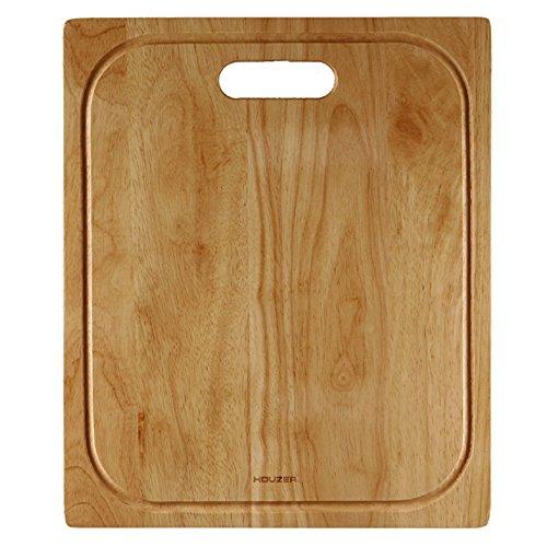 Houzer CB-4100 Endura Hardwood 1475-Inch by 1775 Inch Cutting Board