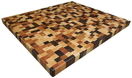 Armani Fine Woodworking End Grain Brickwork Butcher Block Countertop