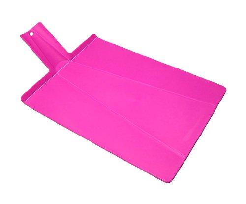Joseph Joseph Chop 2 Pot Plus Folding Chopping Board, Pink