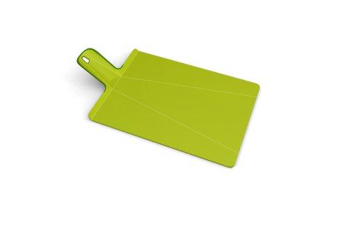 Joseph Joseph Chop 2 Pot Plus Folding Chopping Board, Small, Green