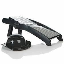The Sharper Image Stainless Steel Adjustable Mandoline Slicer