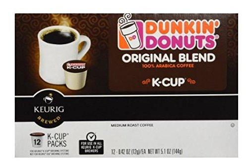 Dunkin Donuts K-Cups Keurig Coffee Brewers Original 24 Count