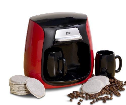 MaxiMatic EHC-233 Elite Cuisine Dual Cup Pod CoffeeTea Maker