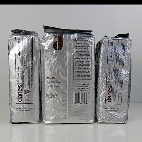 Danesi Caffe Doppio Espresso Beans 22 lb Bag
