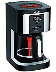 KRUPS 14-cup programmable coffee maker EC3240