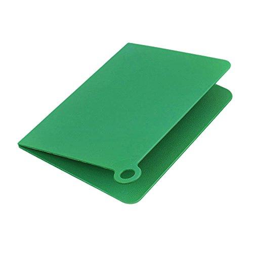AQQAS Small Mini Cutting Board Plastic Green Folding Chopping Boards Mat for Fruit Camping Kitchen