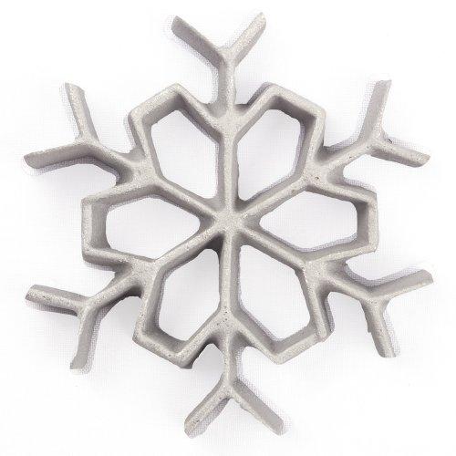 Kitchen Supply 7081 Rosette Iron Snowflake