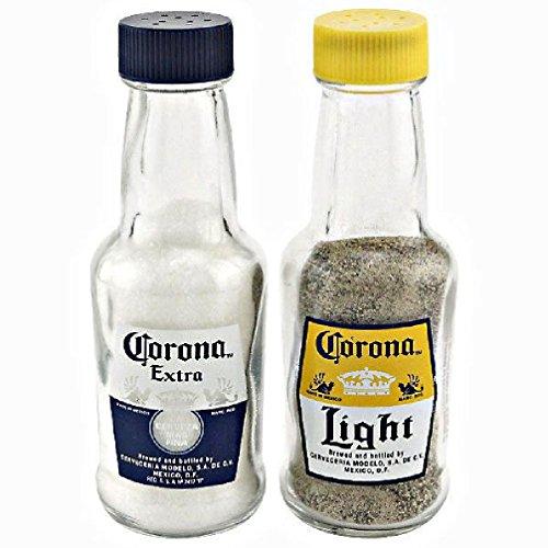 Cherry Queen Corona Mini Replica Bottle Salt Pepper Shaker Set 2oz Kitchen Tools Gadgets