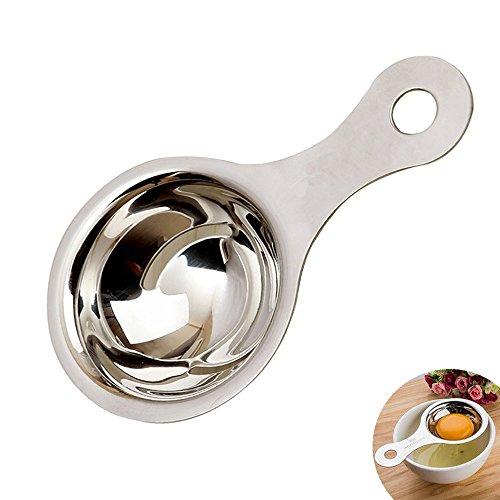 Egg Separator White Yolk Filter Stainless Steel Cooking Tool Dishwasher Safe Chef Kitchen Gadget Separator yoke white