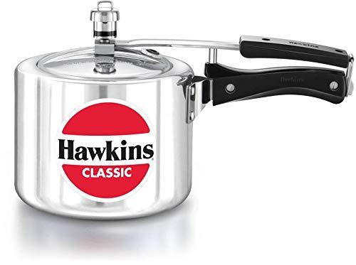 Hawkins Classic Aluminium Pressure Cooker 2 Liter Small Kitchen Appliances