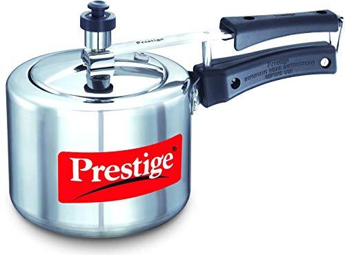 Prestige Nakshatra Plus 2L Aluminium Pressure Cooker Induction Bottom Stovetop