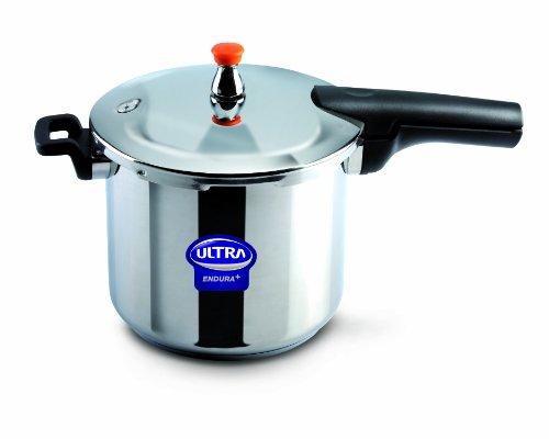 Elgi Ultra EU-8L Stainless Steel Pressure Cooker 8-Liter