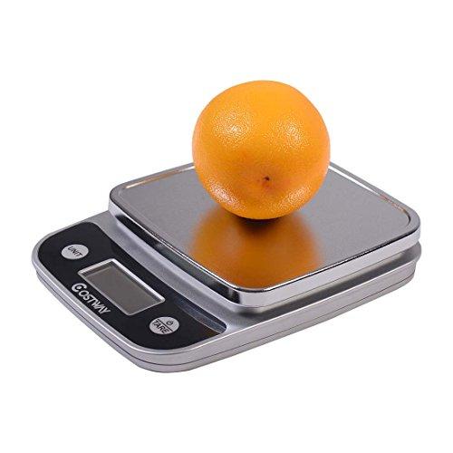 LCD Digital Kitchen Weight Scale 5Kg x 1g Food Diet Postal Slim -Ultra-slim design