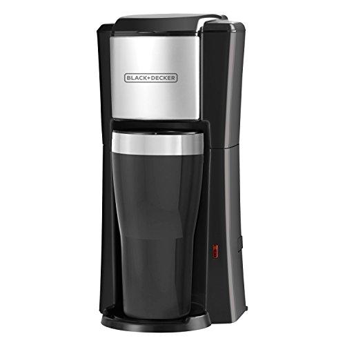 BLACKDECKER Single Serve Coffeemaker Black CM618