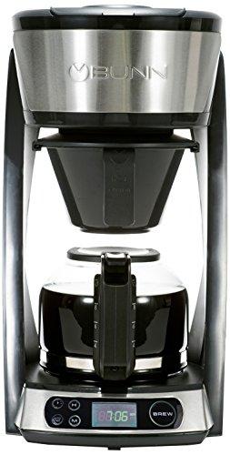 BUNN HB Heat N Brew Programmable Coffee Maker 10 cup Stainless Steel
