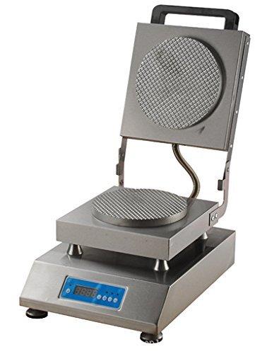 FY-2220 Digital Electric Ice Cream Cone Baker Teflon Non-Stick Egg Roll Maker Omelet Waffle Making Machine 220V