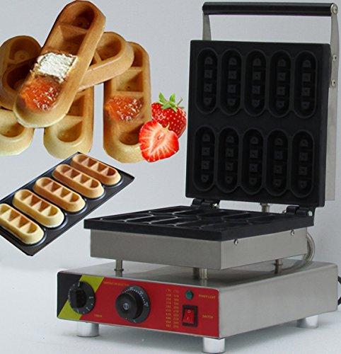 NP-513 Waffle Maker  Waffle Baker  Bar Waffle Maker  Bar Waffle Making Machine 15KW 110V