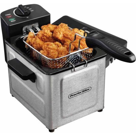 Proctor Silex 15 L Professional-Style Deep Fryer Stainless SteelModel 35041 colorSilver