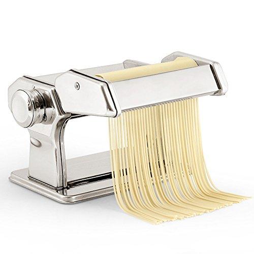 Fanala Pasta Maker Stainless Steel Pasta Machine Pasta Roller Spaghetti Noodle Maker