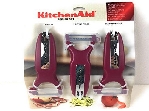 KitchenAid Classic 3-pc Handheld Peeler Set