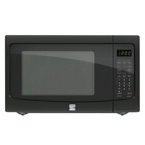 Kenmore 12 cu ft Countertop Microwave w EZ Clean Interior Black 72129