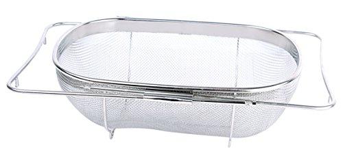 Maxware 13'' Stainless Steel Convertible Colander Sink Strainer/colander