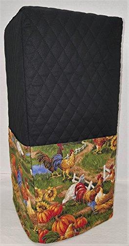 Rooster Blender Cover Black Large