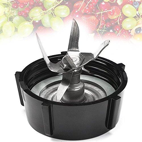 KingFurt 6 Point Blender Blade Ice Crushing with Base Jar Bottom Cap For Oster and Osterizer Blender