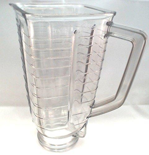 Oster 027472-000-089 Plastic Blender Jar PBL Square Top