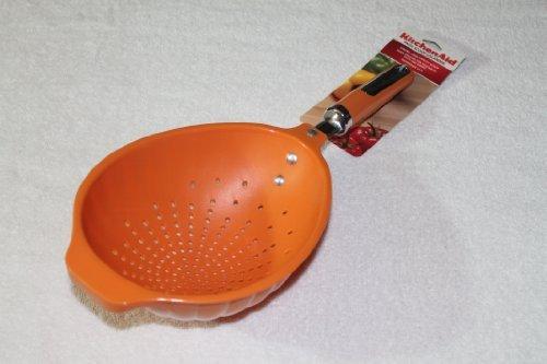 Kitchenaid Tangerine Orange Pasta Scoop Colander