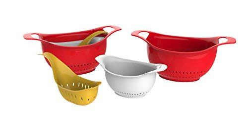 Good Cook 3-piece Colander Bowl Set