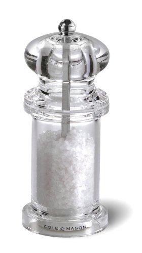 Cole and Mason 505 Acrylic Salt Mill 55 Inch