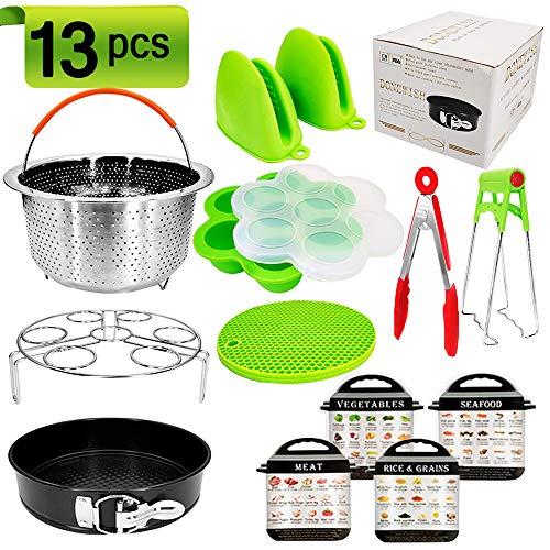 13pcs Pressure Cooker Accessories Pot 568Qt Instant