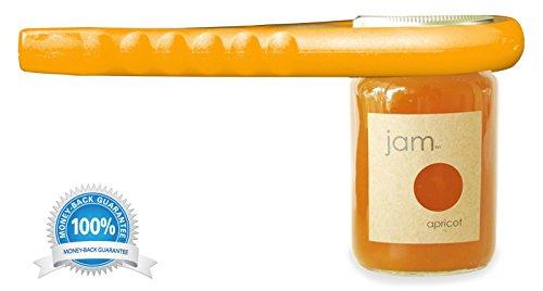Premium Quality Jar Opener Get Lids Off Easily Jar Openers for Seniors Multiple Size Grip Orange
