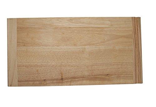 Omega National Rubberwood Bread Board 34 x 16 x 23-12
