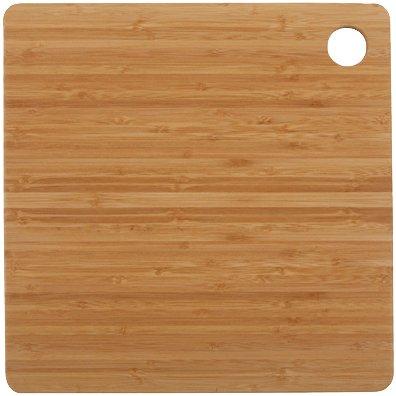 Core Bamboo Dishwasher Safe Square Cutting Board Medium