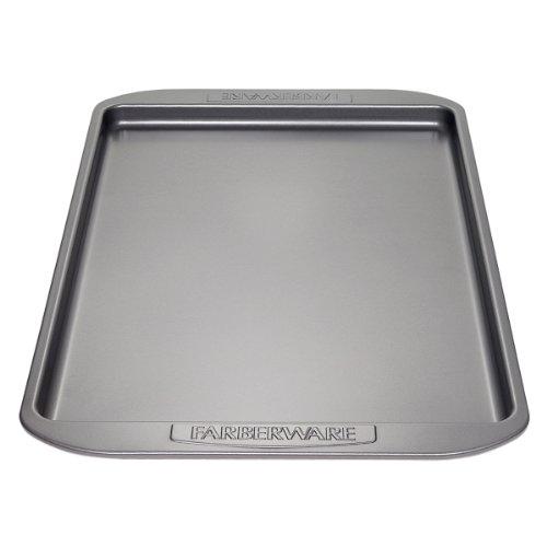 Farberware Nonstick Bakeware 11-Inch x 17-Inch Cookie Pan Gray
