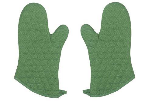 Now Designs Superior Oven Mitt Verde Green Set of 2