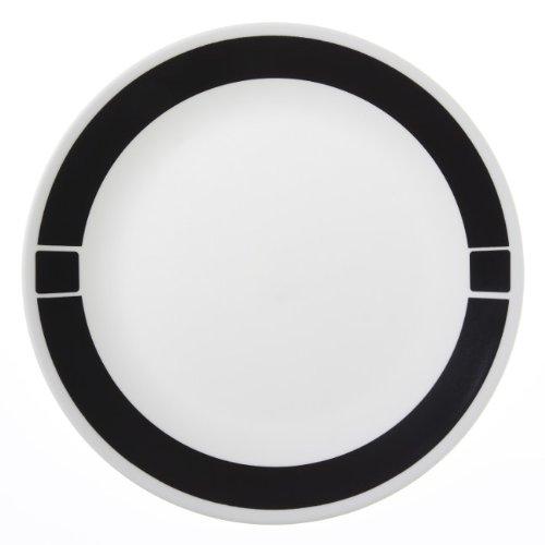 Corelle Livingware 6-Piece Dinner Plate Set Urban Black