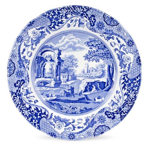 Spode Blue Italian Dinner Plate Set of 4