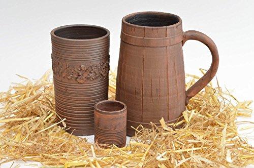 Ceramic tableware designer kitchenware eco-friendly dishes beer mug gift ideas
