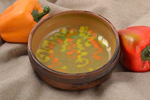 Handmade Designer Kitchenware Stylish Ceramic Bowl Beautiful Painted Bowl