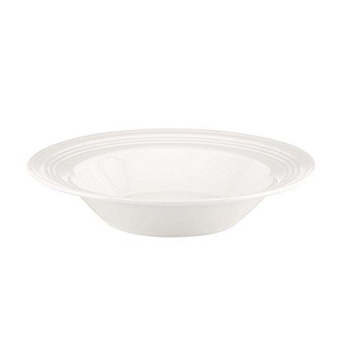 Lenox Tin Can Alley Four Degree Pasta Bowl Rim Soup White